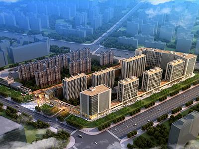 高新区核心地段,距市政府仅800米。