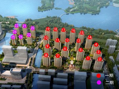 A区央景大宅12楼均价约15000元/㎡