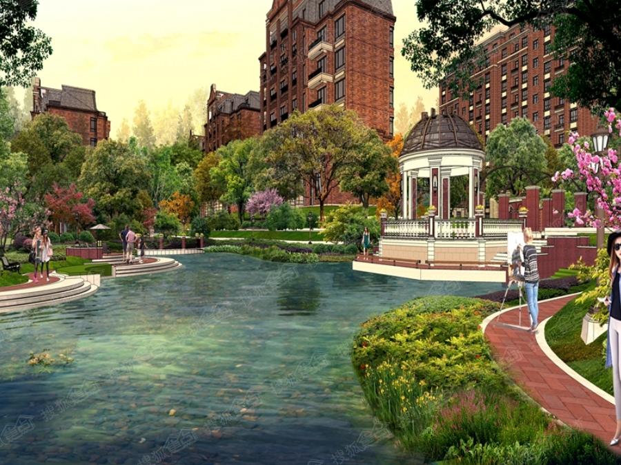 花园洋房精装修,临近洋河分流