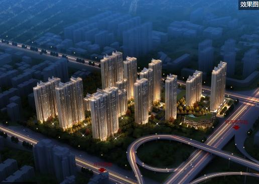 杨家峪城改项目均价9600元/平方米