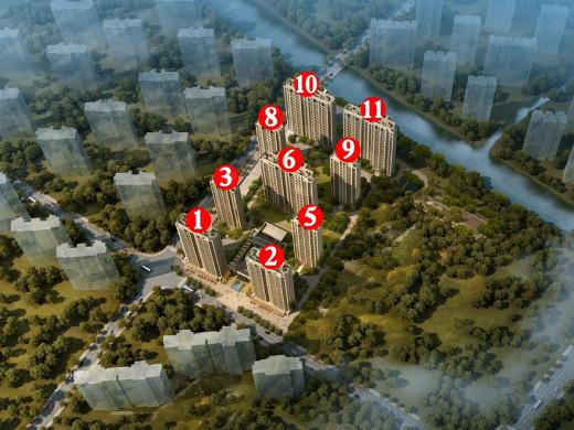 规划建筑面积约115-142㎡ 户型图已出炉