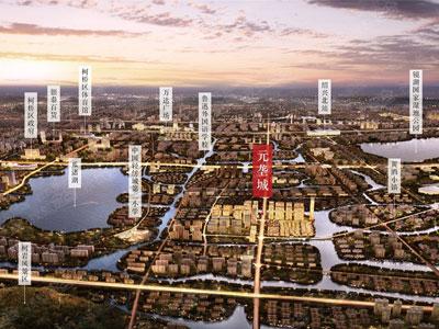 建面约183-202㎡湖景城市排屋即将推出