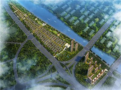 东河畔中式院落住宅,浓浓中国风