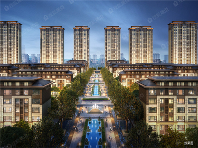 河景高層、電梯洋房 建筑面積約90-160㎡多樣戶型